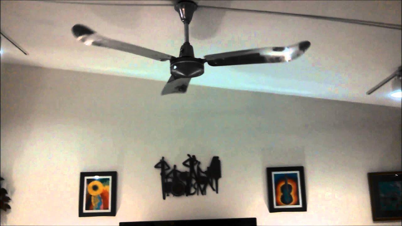Envirofan Gold Line Industrial Ceiling Fan model 160F 7 c 1979
