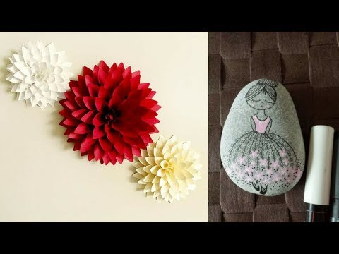 easy-crafts-ideas-to-do-at-home!-diy-easy-rings,-room-decor-ideas,-hot-glue-hacks