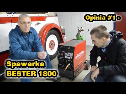 Opinia #1 - Spawarka Bester 1800