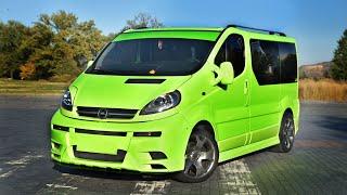 Самый Яркий Opel  Vivaro 1.9 турбодизель. Обзор доработок и отзыв владельца.
