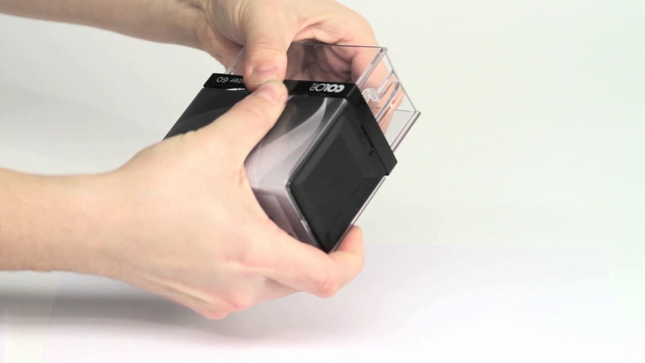 Colop Printer R45 mit Textplatte