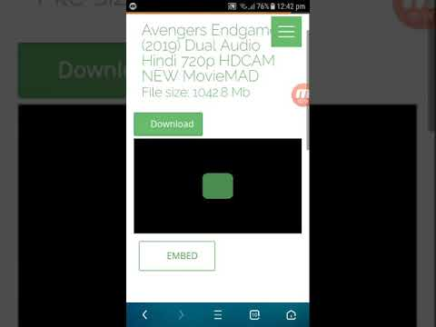 Download Avengers Endgame Full Movie In Hindi 1080p Hd