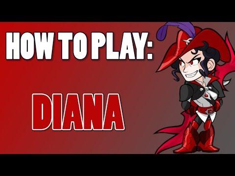 How To Play: DIANA (Brawlhalla)