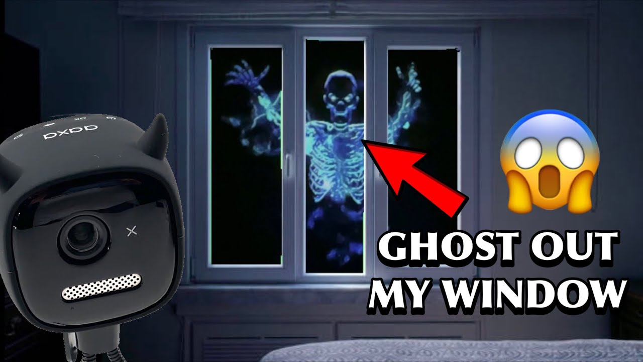 GHOST IN WINDOW | HP2 PROJECTOR REVIEW!!!