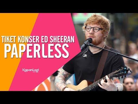 Sistem Pembelian Tiket Konser Ed Sheeran, Seperti Apa? Mp3