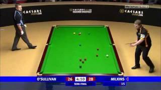 Snooker Shoot-Out Semi Final Ronnie O'Sullivan v/s Robert Milkins HD