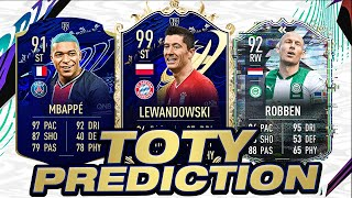 FIFA 21 TOTY PREDICTION! (Starting XI, SBCs & Objectives!)