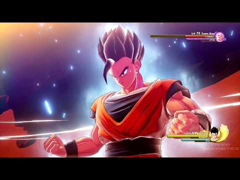 Dragon Ball Z: Kakarot - Mystic Gohan Vs Super Buu Full Fight (DBZ Kakarot 2020) PS4 Pro