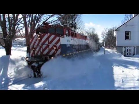 """""""Monster Train"""" MA&N Railroad"""