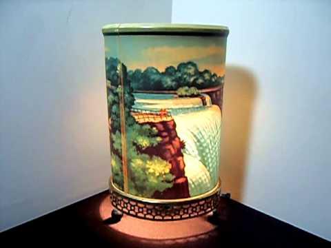 Vintage 1955 Econolite Motion Lamp - Niagara Falls - YouTube