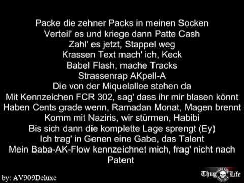 "SadiQ - Lyrics - Meine Stadt ""Frankfurt"""