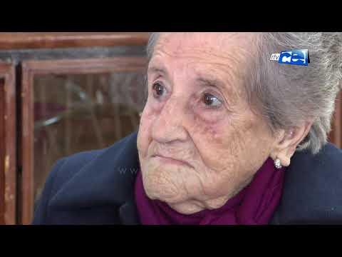 Mercedes Cobos Borrego, una centenaria que ha celebrado hoy su siglo de vida