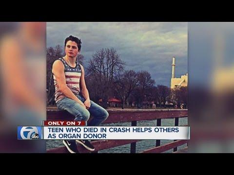 Teen killed in crash saving lives as organ donor