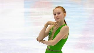 Елизавета Осокина Короткая программа Девушки Кубок России 2020 21 Четвертый этап