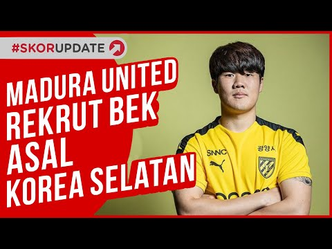 Madura United Rekrut Bek Asal Korea Selatan