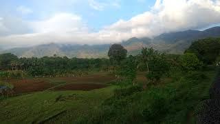 View from Shenkotta - Kollam train #Tamilnadu - #Kerala