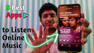 Top 5 Best Apps To Listen Online Music ⚡⚡⚡ 2021 screenshot 4