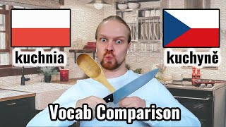 Polish Czech Conversation | In the Kitchen | Slavic Languages Comparison