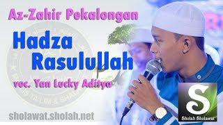Lirik Az-zahir - Hadza Rasulullah Terbaru  Vocal Yan Lucky