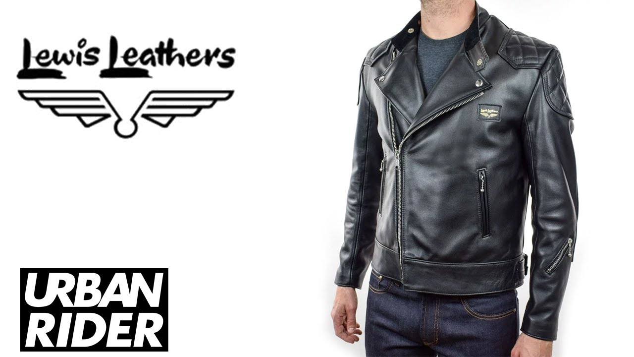 Best Motorcycle Jacket >> Lewis Leather Super Monza Leather Jacket Review - Armour Ready Edition - Urban Rider - YouTube