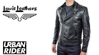 Lewis Leather Super Monza Leather Jacket Review - Armour Ready Edition - Urban Rider