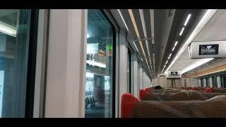山田線 HB-E300系 快速 さんりくトレイン宮古号 宮古行 盛岡駅発車時車窓 2021.4