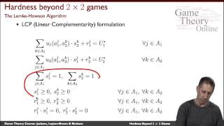 GTO-2-04b: Hardness of Computing a Nash Equilibrium (Advanced)