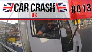 [UK] Bad Driving & Car Crash Compilation #013 AUGUST 2016