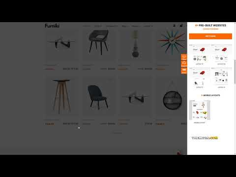 Furniki - Furniture Store amp Interior Design WordPress WooCommerce T thumbnail