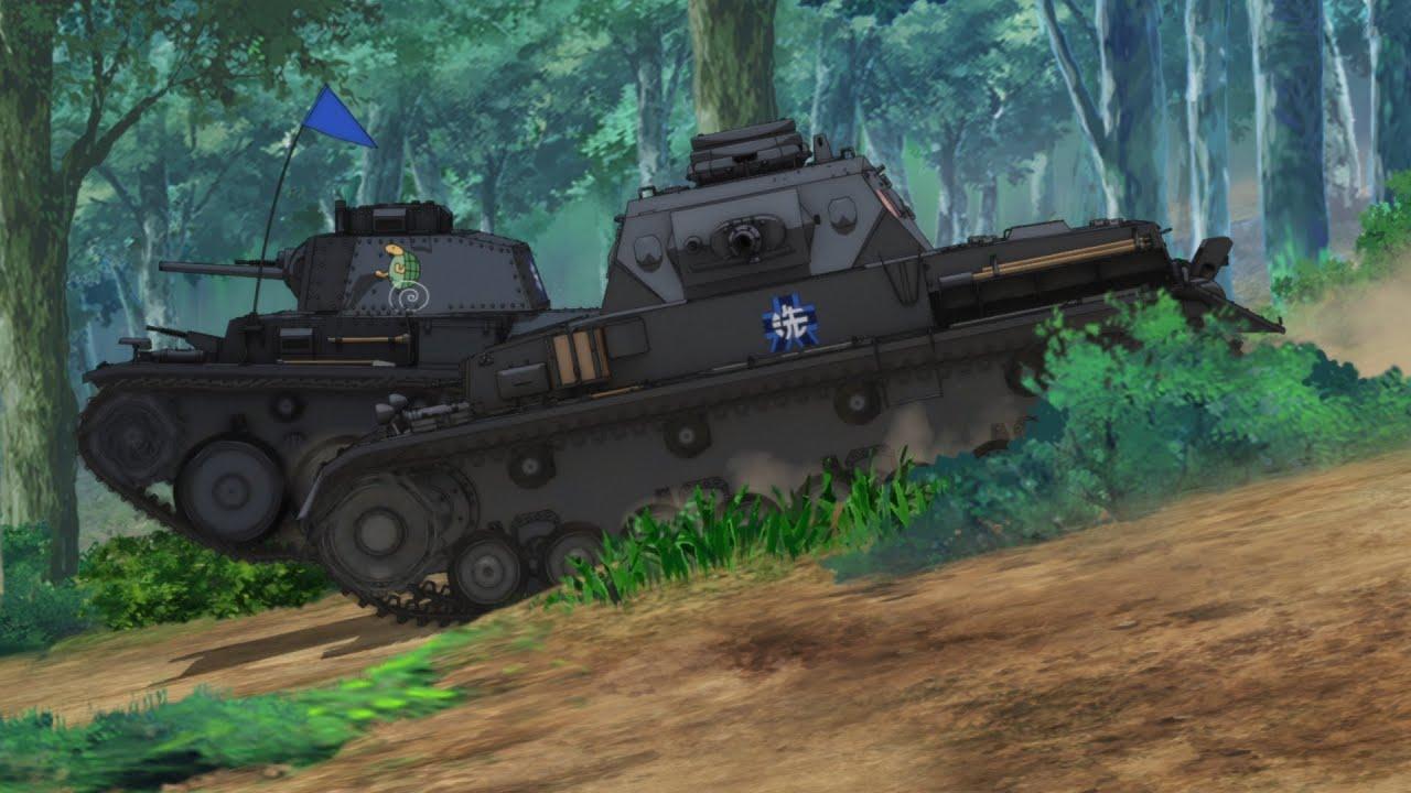 OVA「ガールズ&パンツァー これが本当のアンツィオ戦です!」劇場本予告