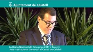 Diada Nacional de Catalunya 2013 a Calafell