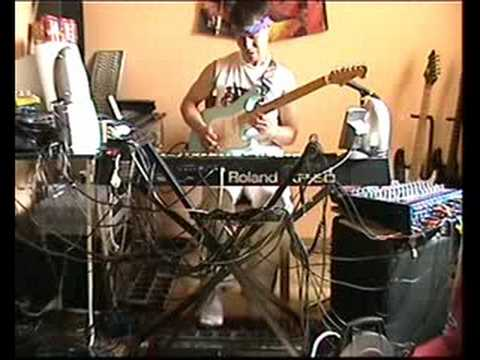 Eruption Van Halen And Big Solos Of Yngwie Malmsteen (Steackmike One Man Band Demo)
