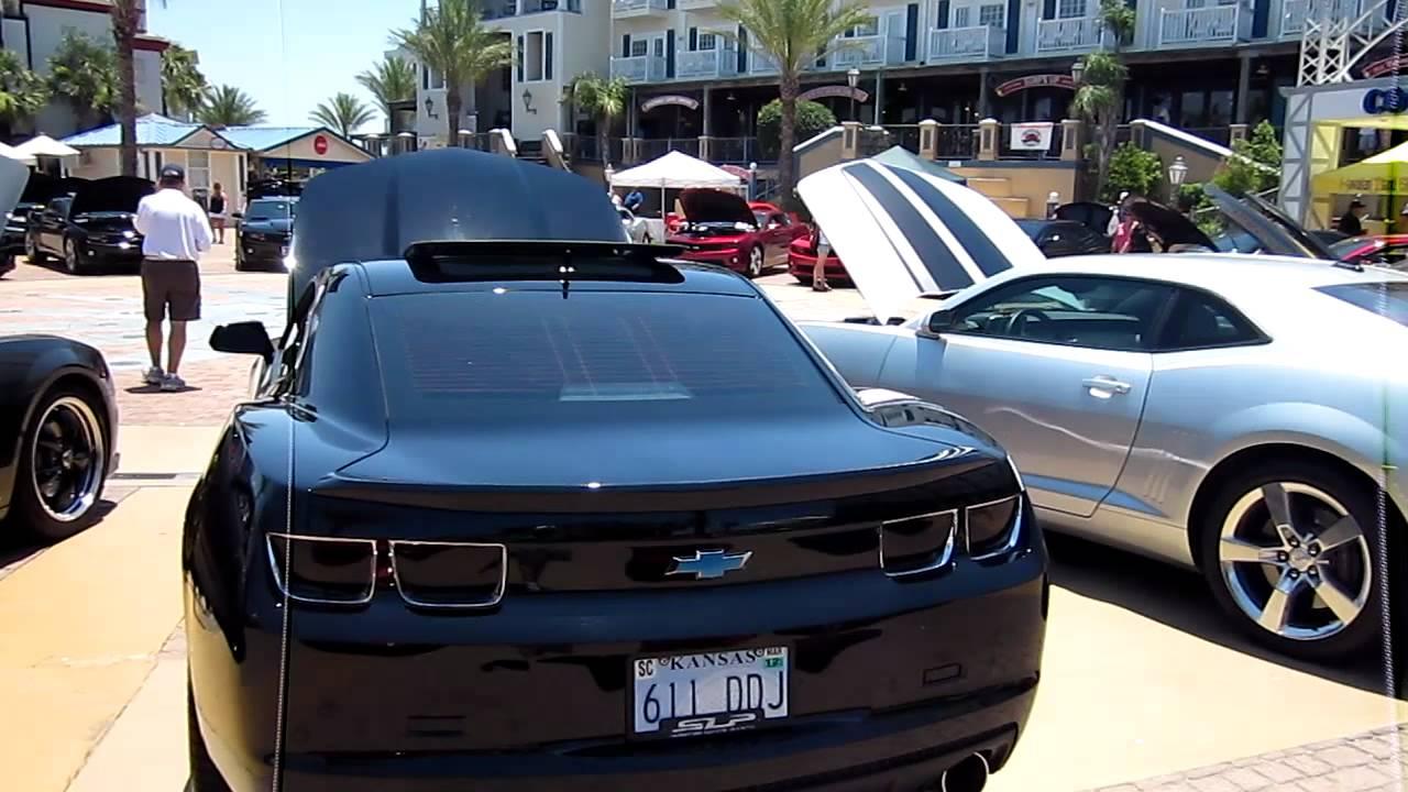 Kemah Boardwalk Camero Show YouTube - Kemah car show