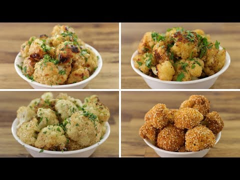 Roasted Cauliflower Recipe 4 Ways