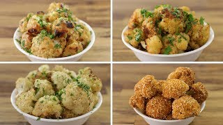 Roasted Cauliflower Recipe - 4 Ways
