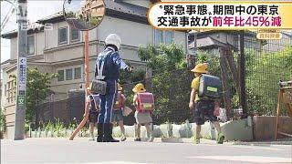 緊急事態宣言期間中 都内の交通事故が45%減少(20/05/27)