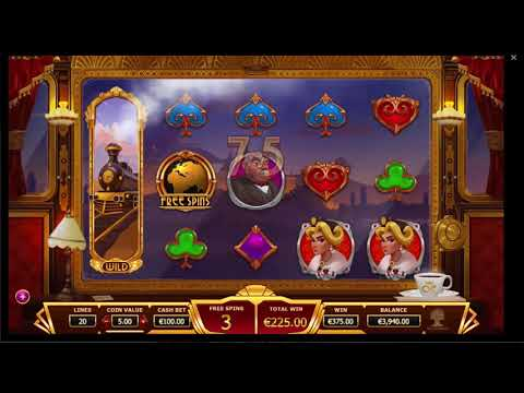 Free Spin Bonus casino  Big win Max bet Orient Express