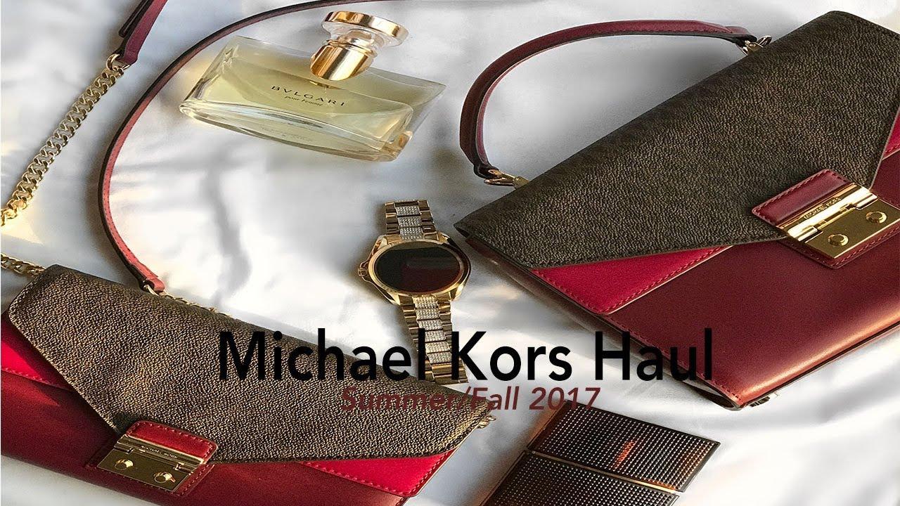 0e6051ed74 Michael Kors Haul Summer Fall 2017 Part 1 - YouTube