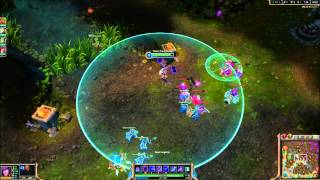 League of Legends Bug-Slow Particle Effect Replaced with Flash Icon