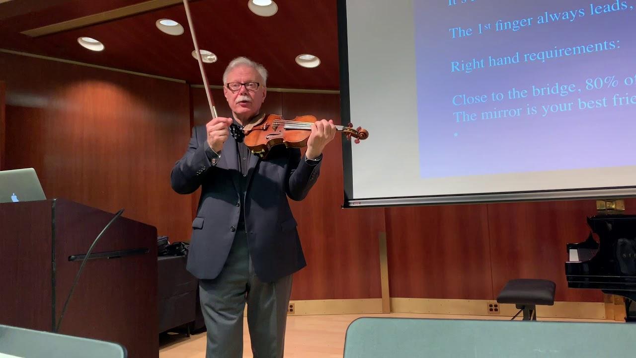 Kurt Sassmannshaus: Developing High-Level Violin Technique
