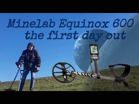 Minelab Equinox 600 the first day out