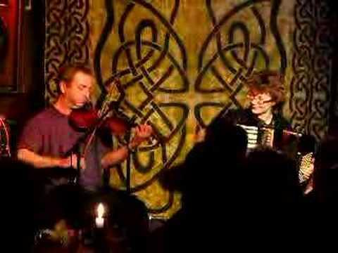 Karen Tweed and Roger Wilson in The Top Bar