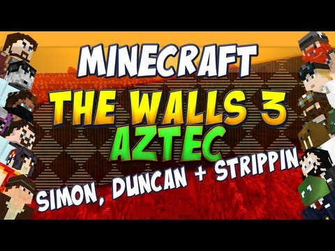 The Walls 3 Aztec - Simon, Duncan and Sam