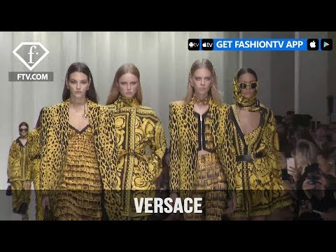 Milan Fashion Week Spring/Summer 2018 – Versace | FashionTV