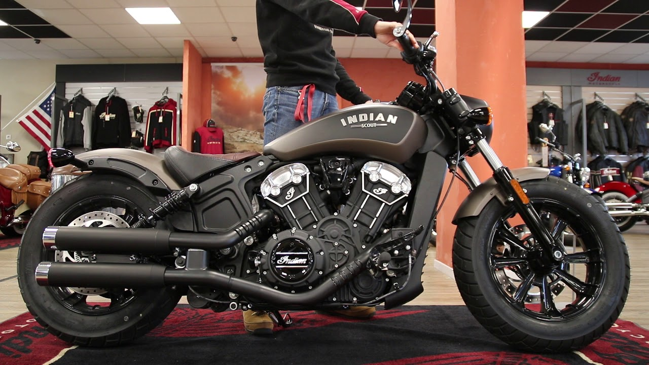 Indian Scout Bobber Avec Silencieux Performance Indian Annecy Youtube [ 720 x 1280 Pixel ]