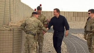British PM Cameron in Afghanistan to revive peace talks