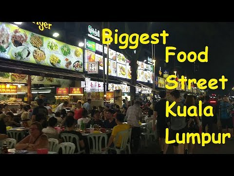 Part 6 - Biggest Food Street in KL with Live Music | Bukit Bitang | Shopping place in KL