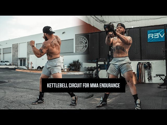 Try This Kettlebell Circuit for MMA Endurance | Phil Daru