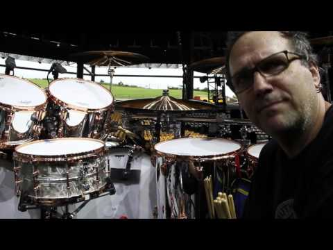 Ludwig Behind the Beat  Alex Van Halen Kit Tour 2015