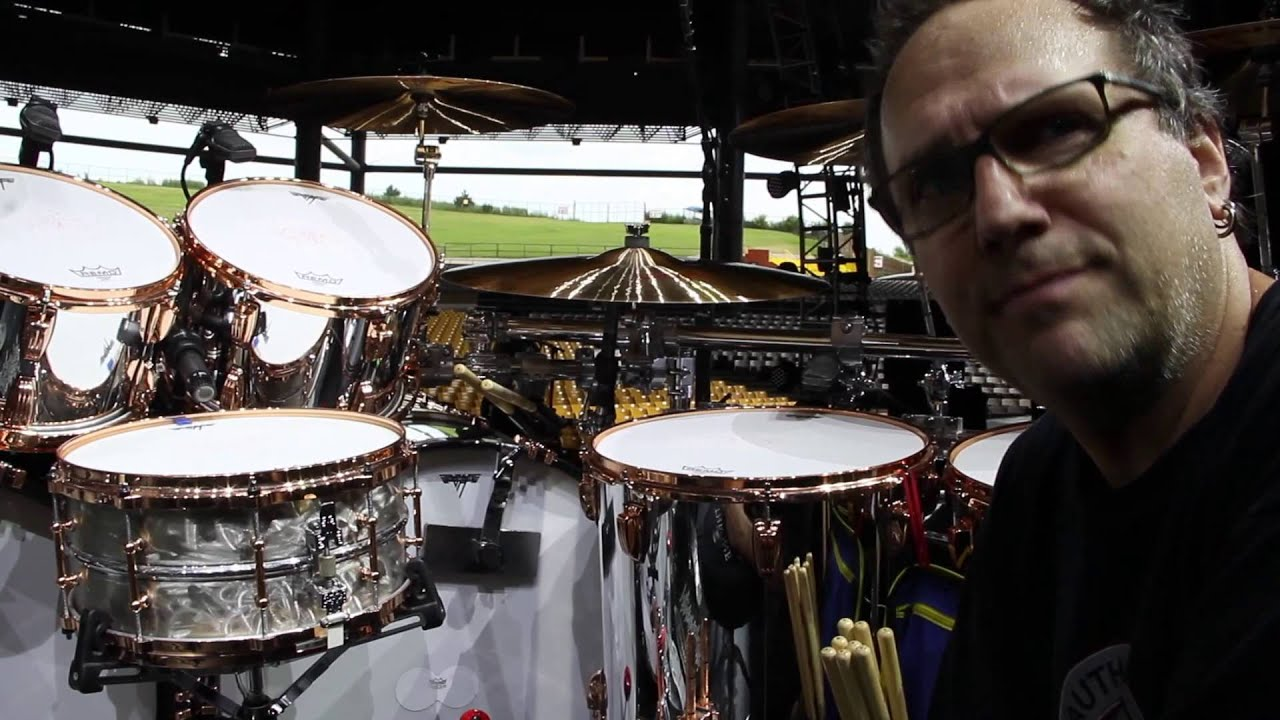 Ludwig Behind The Beat Alex Van Halen Kit Tour 2015 Youtube